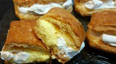 Cookbook Recipes, Cooking Recipes, Gelatin, Meringue, Custard, Mousse, Food To Make, French Toast, Bread