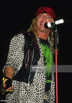 Bret Michaels performs circa 1990s.
