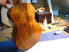 Koa ukulele 2015 back