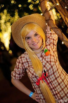 Otaku House Cosplay Idol » Natalie Capps: AppleJack from My Little Pony Friendship is Magic