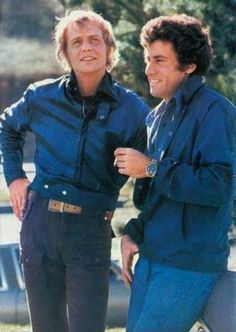 David Soul & Paul Michael Glaser. So Cute! ♥ ♥ ♥ ♥