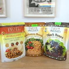 Need a quick, healthy and tasty lunch for the office today? Come pick up a pack of all natural Jyoti Natural Foods deliciousness. Just heat and serve.  See you soon!