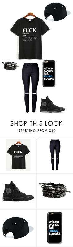 """Untitled #147"" by darksoul7 ❤ liked on Polyvore featuring Converse, NIKE and Casetify"