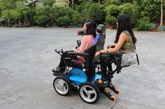 Chin Control and Carer Seat with Carer Control Truck Toppers, Wheelchair Accessories, Scooter Custom, Powered Wheelchair, Spinal Cord Injury, Homemade 3d Printer, Belly Laughs, Electric Scooter, Baby Strollers