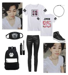 """""""'Biased'"""" by kpop200 on Polyvore featuring Dogeared, Balenciaga, adidas and Marc Jacobs"""