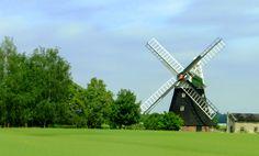 alte Windmühle an der Ostsee