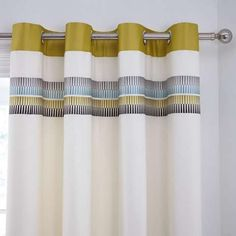These thermally lined eyelet curtain will provide a regular temperature…