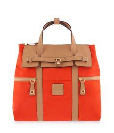 Jetsetter Convertible Backpack – Spicy Orange | Henri Bendel