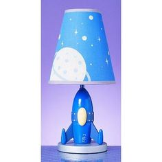 Buy the Cal Lighting Blue Direct. Shop for the Cal Lighting Blue 60 Watt Kids / Youth Wood Rocket Table Lamp with On/Off Switch from the Kids Collection and save. Outer Space Bedroom, Outer Space Theme, Boys Bedroom Decor, Bedroom Themes, Bedroom Ideas, Nursery Ideas, Rocket Lamp, Childrens Lamps, Bedroom Comforter Sets
