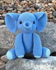 Esther the Elephant Amigurumi Pattern