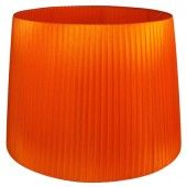 Oriva Lampskärm Organza 50 cm Orange - lavanille.com