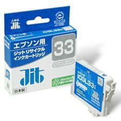 【ジットサプライ】ジットエプソンICGL33リサイクルインクカートリッジ グロスオプティマイザ JIT-E33GL【D】【JIT】の最安値