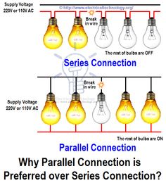How To Wire Lights in Parallel? Lighting, Electrical