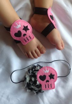 Your place to buy and sell all things handmade Baby On The Way, Baby Love, Baby Sandals, Baby Shoes, Gothic Baby, Demon Baby, Baby Rocker, Baby Princess, Diy Hair Bows
