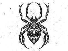 Spider illustration for Get Addicated by Black Cloud . Body Art Tattoos, Sleeve Tattoos, Vintage Tattoo Design, Spider Web Tattoo, Promise Tattoo, Halloween Poems, Traditional Tattoo Old School, Birthday Tattoo, Norse Tattoo