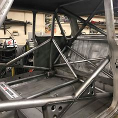 Cage almost finished on race car Vw Cars, Race Cars, Autos Rally, Toyota Tacoma Prerunner, Tube Chassis, Diy Go Kart, Mini Spa, Because Race Car, Car Audio Systems