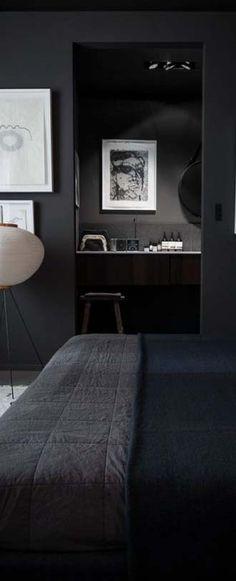 Am to PM // bedroom // interior // home decor // city suite // urban loft // city living // urban life //