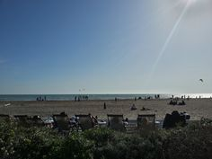 A perfect day for a late lunch on the beach front ! Shilling, Ostia (Roma).
