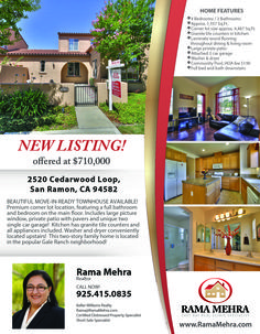Home Flyer New Listing http://www.ramamehra.com/2014/06/20/beautiful-move-in-ready-townhouse-available/