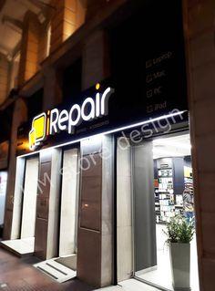 Η KM store designανέλαβε τον σχεδιασμό τη μελέτη, και την κατασκευή του εξοπλισμού σε ένα ακόμη κατάστημα iRepair, αυτό του Συντάγματος, Φιλλελήνων 1. Το κατάστημα προσφέρει υπηρεσίες επιδιόρθωσης ηλεκτρονικών συσκευών κινητής τηλεφωνίας παντός μάρκας καθώς και αξεσουάρ για τα είδη αυτά, στις καλύτερες τιμές της αγοράς και στον καλύτερο Broadway Shows