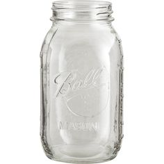 Ball 32 oz. (Quart) Mason Jars (No Lid, Bulk Packed)