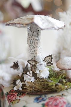 Once upon a dream ~ Fairy mushroom created by Karla Nathan