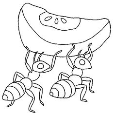 ant coloring pages ants coloring page for kids print outs