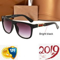 e13534d303c1e Retro Eyewear Double Gray Lens Sunglasses Women s Bright Black Big Square  Frame  fashion  clothing