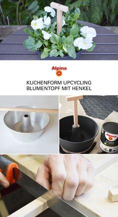 HAPPY METALL Blumenübertopf 2 Henkel ocker