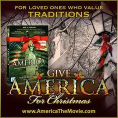Christmas Tradition #9: Christmas Eve Services. Facebook Christmas campaign for the Dinesh D'Souza film, AMERICA: Imagine the World Without Her.