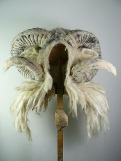 Barbara Keel - Felt Forest Charm Dress Up Boxes, Animal Hats, Wet Felting, Needle Felting, Wool Felt, Felt Hat, Felted Wool, Costume Design, Textiles