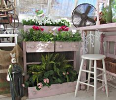 Penny's Vintage Home: Repurposed Chest of Drawers