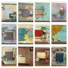 Authentique Calendar #scrapbookSTEALS #layout