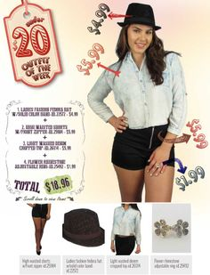 """599fashion.com - Everything $5.99 or Less Check out this weeks """"UNDER $20 Outfit"""", a complete look for under $20.00."""