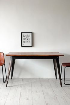 Industrial Cafe Style Dining Table