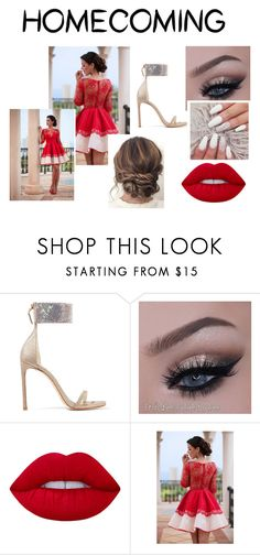 """""""Moonlight"""" by mrsemilystyles4everandever on Polyvore featuring Stuart Weitzman, Lime Crime and Homecoming"""