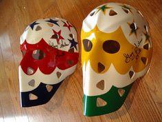 Gary Smith, Goalie Mask, Hockey Goalie, Masked Man, Nhl, Old School, Suitcase, Masks, Cool Designs