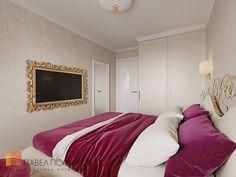 Фото: Интерьер спальни - Трехкомнатная квартира в Пушкине в стиле легкой классики, 73 кв.м.