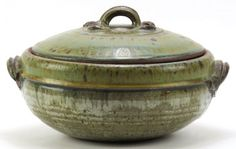 Aylsworth American Studio Art Pottery Ceramic Covered