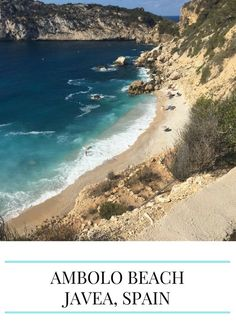 Image of Ambolo beach which is a destination for a scenic self drive from valencia