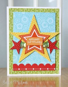 Pinterest Inpsired by @Bella Blvd Scrapbooking #card #birthday by Shellye McDaniel