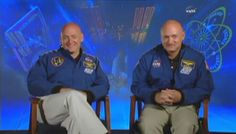 Twin brothers Scott Kelly and Mark Kelly, both NASA astronauts, were once set to meet in space in 2011. Mark commanded the last mission of the space shuttle Endeavour, STS-134, while Scott led the International Space Station's Expedition 26 mission. The shuttle mission was delayed beyond Scott's time on the station, so they ultimately never met up in space. Now the twin astronauts are volunteering for science experiments as Scott Kelly prepares for a one-year mission. [Read the Full Story]