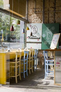 Vitamin Cafe.....LOVE! I would so do this. To buy, take & commit to a good habit daily - yep, SO worth it!
