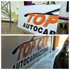 Pannellistica in #forex  per carrozzeria Top Car. Per info e preventivi, chiama 010/9111832 o visita www.decografic.com   #stampadigitale   #Genova