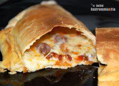 Como hacer la masa de la pizza calzonne.