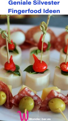 Fingerfood & Buffet Ideen für die Silvester-Party | Das Inspirations-Magazin #silvester #silvesterparty #fingerfood