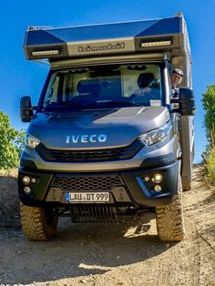 Iveco Daily Camper, Iveco Daily 4x4, Offroad Camper, Rv Campers, Iveco 4x4, Adventure Campers, Camper Van Conversion Diy, Expedition Vehicle, Camping Stuff