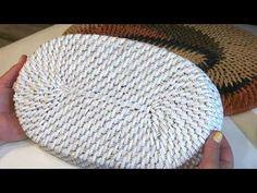 """(50) Плетение овального дна """"корневым"""" плетением. Вариант №1. - YouTube Rattan, Crochet Hats, Basket, Felt, Diy, Rugs, Home Decor, Youtube, Napkin"""