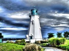 Port, lighthouse, St Catharines, Ont, Canada by Ray Crown. by lucy