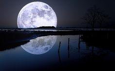paisajes nocturnos con luna - Buscar con Google